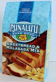 Punalu'u Bake Shop Original Hawaiian Sweetbread and Malasada (Donuts) Mix Hawaiian Cookies, Donut Mix, Gourmet Recipes, Snack Recipes, Sweet Bread, Pop Tarts, Donuts, Bakery, Favorite Recipes