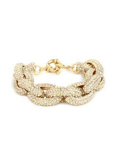 Original Pavé Links Bracelet Bracelet   BaubleBar