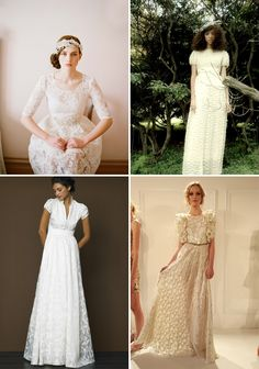 wedding dresses with sleeves!