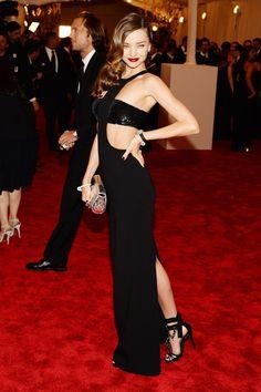 Todas las fotos de celebrities y de alfombra roja de la gala del MET 2013: Miranda Kerr de Michael Kors