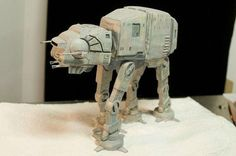 Amazing AT-AT nerd cake design Star Wars