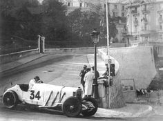 1929 Monaco & the big Mercedes