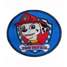 Paw Patrol Marshall Floor Mat. Available to purchase at www.sashleigh.com.au