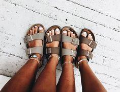 pin ☆ riverferrarii summer birks birkenstock is part of Shoes - Estilo Hipster, Estilo Hippy, Cute Shoes, Me Too Shoes, Just Keep Walking, Summer Outfits, Cute Outfits, Summer Shoes, Summer Sandals