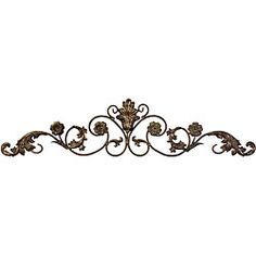 @Overstock - Add elegance and interest to your wall with this Argento scroll and floral wall decor. Hang this wall decor above your door for an intriguing entry.http://www.overstock.com/Home-Garden/Argento-Wall-Decor/5179426/product.html?CID=214117 $59.99