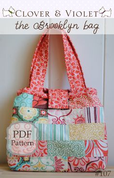 the Brooklyn bag pattern on Craftsy.com