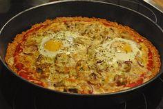 Low carb Rezepte: Low Carb Pizza
