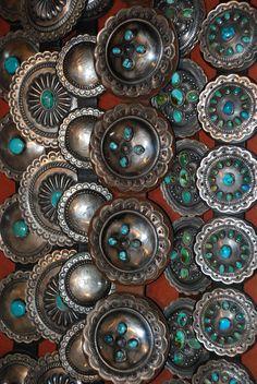 Navajo concho belts ..... a fashion basic