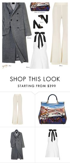 """""""Untitled #2343"""" by amberelb ❤ liked on Polyvore featuring E L L E R Y, Dolce&Gabbana, Talbots, Marni and Gucci"""