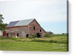 C31 Barn Acrylic Print by Bonfire #Photography