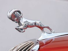 1937 Dodge Woodie hood ornament