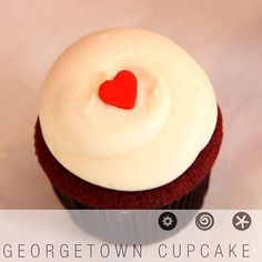 Get the Dish: Georgetown Cupcake's Red Velvet Cupcakes: Something about red velvet cupcakes is simply magical