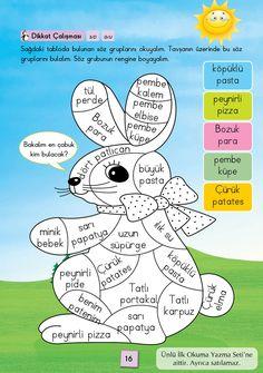 1. Sınıf Konu Anlatım SES FASİKÜLLERİ Book Images, Coloring Books, Language, Classroom, Memories, Teaching, Writing, Education, Homeschooling