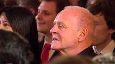 Awwww this is so cute!!  Sir Anthony Hopkins Hears The Waltz He Wrote 50 Years Ago For The First Time  Academy Award-winning actor Sir Anthony Hopkins was a musician before he got into acting. 50 years ago he wrote a waltz but was too afraid to ever hear it play. Dutch violinist André Rieu performs it for the very first time. Watch Hopkins' reaction.  André Rieu - And The Waltz Goes On