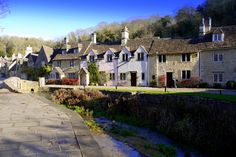 Castle Combe - Wiltshire, called England's prettiest village (location for many movies)