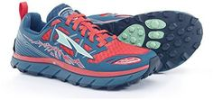 Altra Women's Lone Peak 3 Trail Runner  The lone peak 3.0 was inspired by one of the most rocky, rugged mountains in the wasatch range and was designed to tackle the gnarly terrain of the wasatch 100. It features our signature combination of fully cushioned zero drop and a foot shape toe box along with other trail dominating features. Sandwiched stone guard technology offers protection from rocks and other trail debris while the carbon rubber trailclaw outsole combines unique uphill lug…