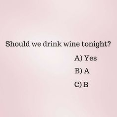 Yes, Yes and YES #cheers
