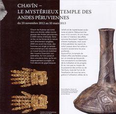 Chavin civilization in peru Native American history