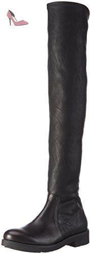 Tosca Blu  IRIS, Bottes hautes   femme - Noir - Schwarz (C99), 39 EU - Chaussures tosca blu (*Partner-Link)