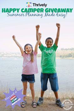 Happy Camper #Giveaway - worth $225 - Kids Activities Blog