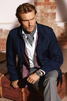 """An ascot is similar to a cravat, but it has wider ends and is in a knot. It is popular in menswear, and is worn under a shirt collar.   """"Tumblr."""" Tumblr. N.p., n.d. Web. 17 Jan. 2013."""