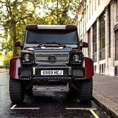 The Gentlemans Inc. — Beast Brabus Red Carbon Fibre @MercedesBenz G63...