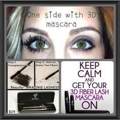 Can you imagine not wearing mascara? I can't live without my mascara, makes lashes stans out! So easy, try it! Xo Younique by KelleyQuebedeaux 3d Fiber Mascara, 3d Fiber Lashes, 3d Fiber Lash Mascara, Mascara Younique, Makeup Younique, Best Lashes, Fake Lashes, Long Lashes, False Eyelashes