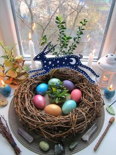 """Tips for Decorating your Altar for Ostara lilithstongue: """" The spring equinox is approaching, so here's some tips on how to get your altar and house ready for the Sabbat! 🌸Decorate with pastel colors. Samhain, Mabon, Beltane, Vernal Equinox, Equinox 2018, Pagan Altar, Altar Decorations, Season Of The Witch, Easter Celebration"""