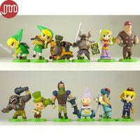 New 12pcs The Legend of Zelda Furuta Choco Egg Gashapon PVC Action Figure 5-6cm…