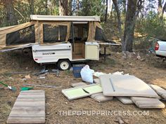 Toy Hauler Conversion Ideas For Pop Up Camper Modification