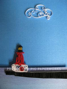Lighthouse by Productive Pig Paperworks