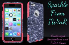 iPhone 6/6 Plus Otterbox Case Otterbox Commuter Glitter by 1WinR