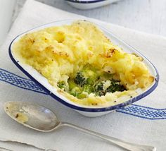 This recipe has been designed to be made ahead and frozen - a family-friendly batch pie, with cheesy mashed potato atop hidden broccoli, leeks and celery