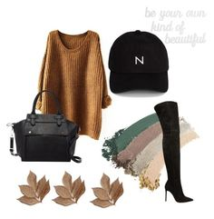 """""""Fall"""" by catarina-kinha on Polyvore featuring Gucci, Gianvito Rossi, Pink Haley, Bliss Studio, PBteen and New Black"""