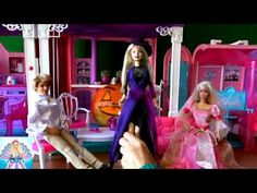 Russia Barbie16! Барби спецвыпуск Хеллоуин часть 3 В доме привидение раз...