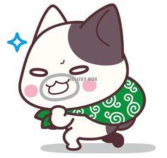 泥棒猫<ぶち猫 にゃんこ>