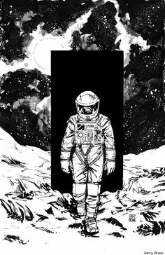 2001 Space Odyssey by Garry Brown