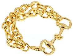 Priviledged Clover Link (As seen in #OPRAH MAGAZINE!) #horsebit #equestrian #jewelry