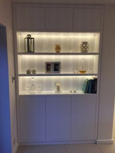 Alcove Units — Oliver Hazael Bespoke Carpentry Alcove Storage Living Room, Living Room Shelves, Living Room With Fireplace, Living Room Decor, Living Rooms, Alcove Cupboards, Small Space Interior Design, Cupboard Storage, Built Ins
