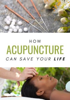 Acupuncture is a life-saving treatment and here's WHY. #AcupunctureWorks #Acupuncturebenefits #tcm #traditionalchinesemedicine