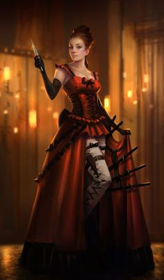 Lady Dagger by NathanParkArt on DeviantArt
