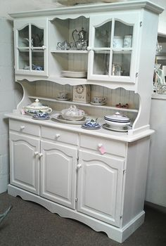 Stunning Shabby Chic Welsh Dresser I love this!!