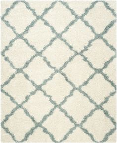 Features:  -Material: Power loomed polypropylene.  -Origin: Turkey.  Technique: -Shag and flokati.  Primary Color: -Ivory/Light.  Material: -Synthetic.  Product Type: -Area Rug. Dimensions: Rug Size R