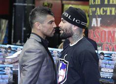 Super Brawl: Victor Ortiz VS. Luis Collazo FINAL Press Conference at Gleason's Gym in Brooklyn, NY.