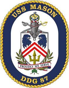 USS Mason (DDG 87) ship crest