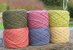 Upland Wool and Mohair - beautiful farm yarn from US