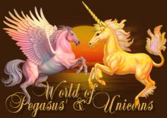 pretty pictures of peaguses | ... Pegasus and Aqua the Unicorn, as they show you their World of Pegasus