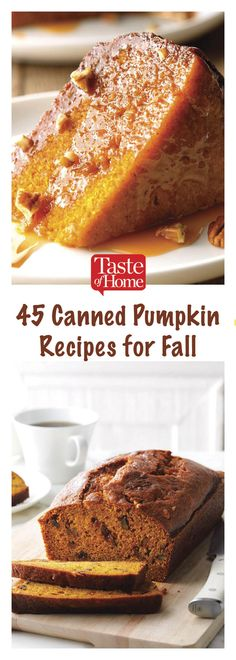 66 Fall Recipes That Use Canned Pumpkin 45 Canned Pumpkin Recipes for Fall Köstliche Desserts, Delicious Desserts, Fall Recipes, Holiday Recipes, Recipes For Christmas, Christmas Sweets, Desert Recipes, Yummy Treats, Sweet Treats