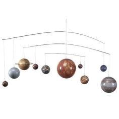 check out this item at one kings lane mobile solar system sun solar system