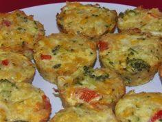 Gluten Free Quinoa Mini Quiches! This is a great way to use up leftover veggies and meats! they taste BETTER than they look!